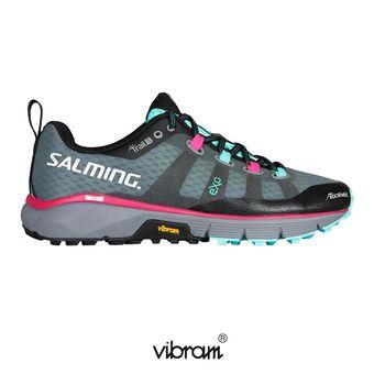 Salming TRAIL 5 - Chaussures trail Femme gris/noir