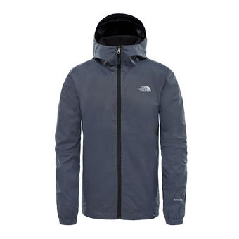 Veste à capuche homme QUEST vanadis grey black