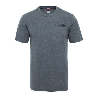The North Face SIMPLE DOME - Camiseta hombre tnf medium grey heather