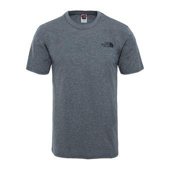 The North Face SIMPLE DOME - T-shirt Uomo tnf medium grey heather
