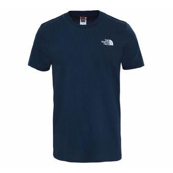 Tee-shirt MC homme SIMPLE DOME urban navy/tnf white