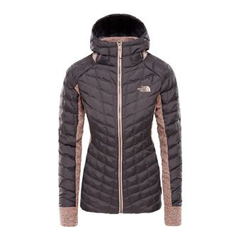 The North Face GORDON LYONS - Chaqueta híbrida mujer rabbit grey/misty rose heather