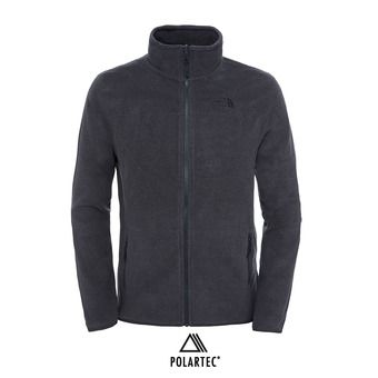 The North Face 100 GLACIER - Polaire Homme tnf dark grey heather