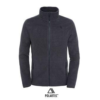 The North Face 100 GLACIER - Polaire Homme tnf dark grey heather