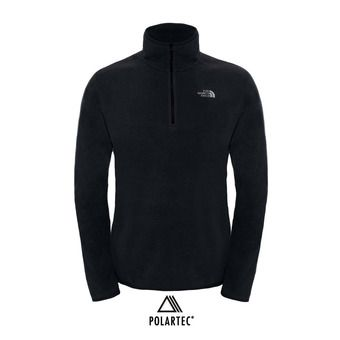 M 100 GLACIER 1/4 ZP TNF BLACK Homme TNF BLACK