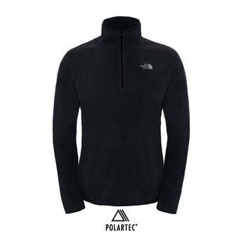 Polaire 1/4 zippée Polartec® homme 100 GLACIER tnf black