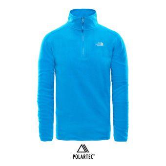 Polaire 1/4 zippée Polartec® homme 100 GLACIER hyper blue