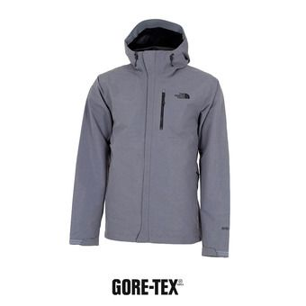 Veste à capuche Gore-Tex® homme DRYZZLE tnf medium grey
