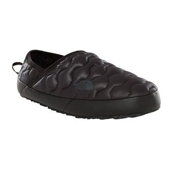 Zapatillas mujer TRACTION MULE IV shiny tnf black/beluga grey
