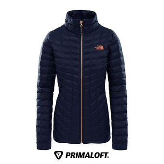 The North Face THERMOBALL - Anorak mujer urban navy/metallic copper