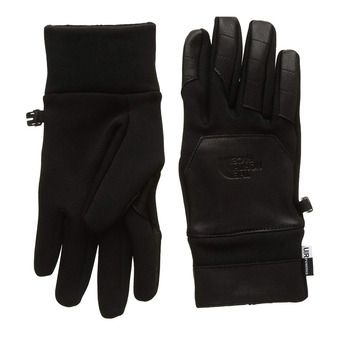 Gants ETIP LEATHER tnf black