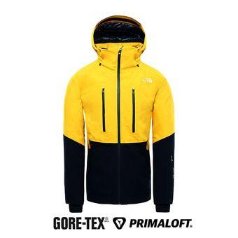 Chaqueta Gore-Tex® hombre ANONYM leopard yellow/urban navy