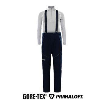 Pantalón de esquí con tirantes Gore-Tex® hombre ANONYM urban navy