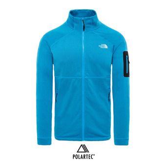 Veste polaire Polartec® homme IMPENDOR POWERDRY hyper blue/tnf black