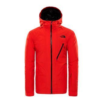 Chaqueta de esquí hombre DESCENDIT fiery red