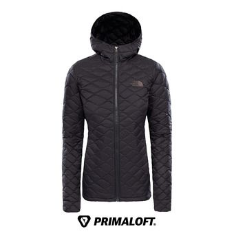 The North Face THERMOBALL - Anorak mujer tnf black matte