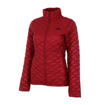The North Face THERMOBALL - Piumino Donna rumba red