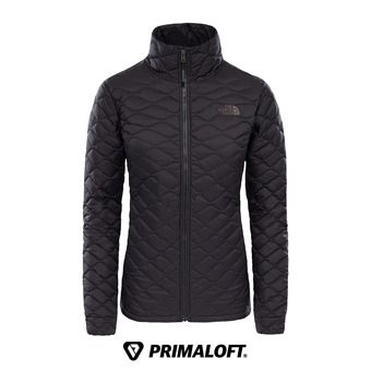 The North Face THERMOBALL - Anorak mujer tfn black matte