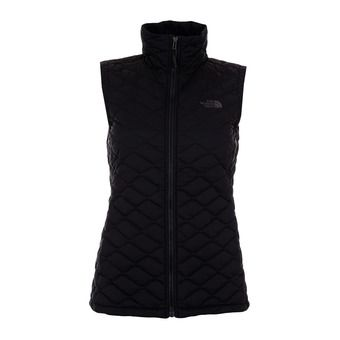 The North Face THERMOBALL - Chaleco mujer black matte
