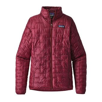 Patagonia MICRO PUFF - Anorak mujer arrow red