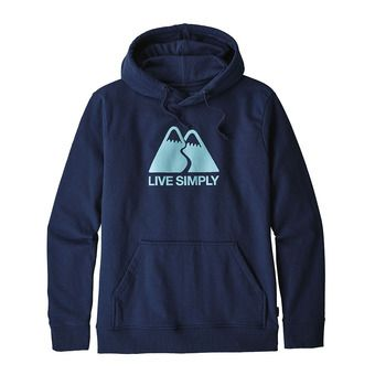 Sudadera hombre LIVE SIMPLY WINDINIG UPRISAL classic navy