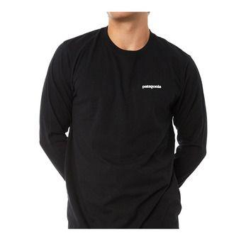 Patagonia P-6 LOGO RESPONSABILI-TEE - Tee-shirt Homme black