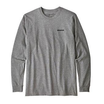 Camiseta hombre P-6 LOGO RESPONSABILI-TEE gravel heather