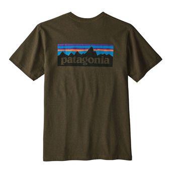 Tee-shirt MC homme P-6 LOGO RESPONSABILI-TEE sediment