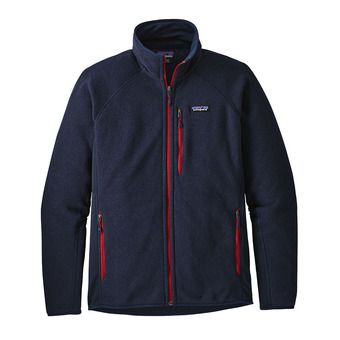 M's Performance Better Sweater Jkt Homme Navy Blue