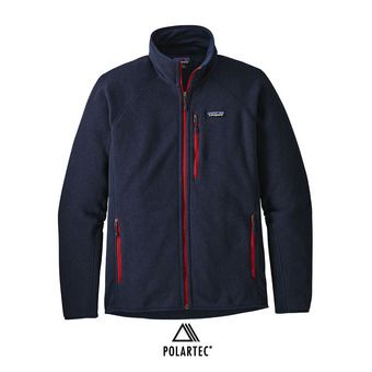 Patagonia PERFORMANCE BETTER SWEATER - Polaire Homme navy blue