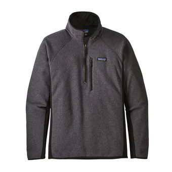 Sweat polaire 1/4 zip homme PERFORMANCE BETTER forge grey w/black