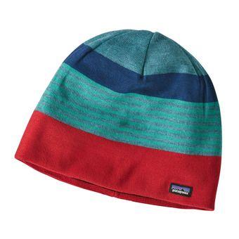 Bonnet HAT Fitzroy Stripe/Tomato