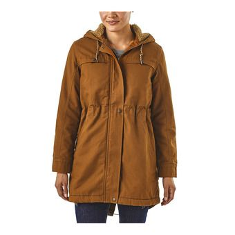 Patagonia INSULATED PRAIRIE DAWN - Veste Femme bence brown