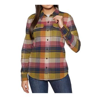 Camisa mujer FJORD FLANNEL spectra kiln pink