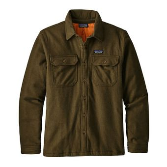 Chaqueta hombre INSULATED FJORD FLANNEL sediment