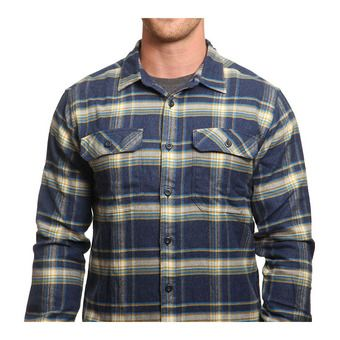 Camisa hombre FJORD FLANNEL navy blue