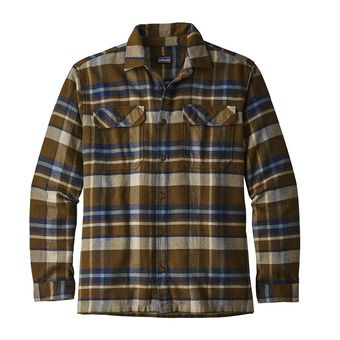 Chemise ML homme FJORD FLANNEL basin sediment