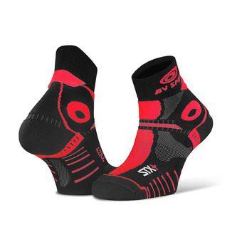 Bv Sport STX+ EVO - Socks - black/red