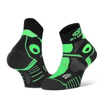 Bv Sport STX+ EVO - Chaussettes noir/vert