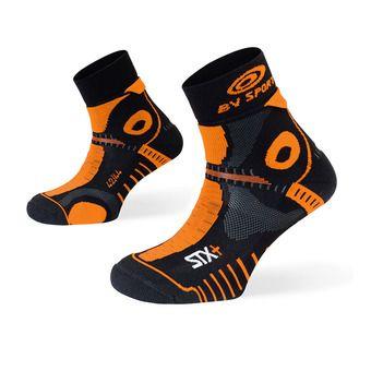 Chaussettes de trail STX+ EVO noir/orange