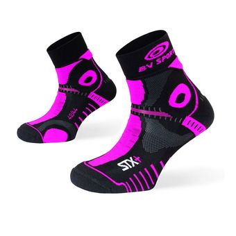 Bv Sport STX+ EVO - Calcetines mujer black/pink