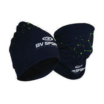 Bonnet multifontions 3en1 BVS bleu/vert