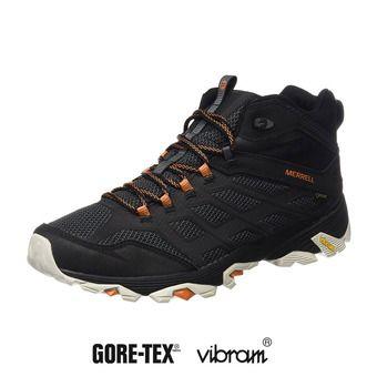 Chaussures de randonnée homme MOAB FST MID GTX black/orange