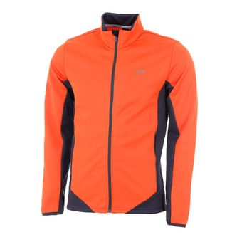 Polaire zippée homme MONVISO chili pepper/eclipse