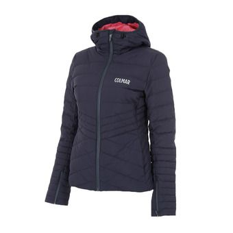 Colmar FJORD ECOVAIL - Anorak mujer blue black/big babol