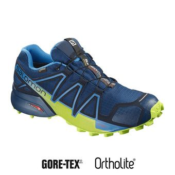 Salomon SPEEDCROSS 4 GTX - Zapatillas de trail hombre poseidon/navy bl