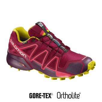 Zapatillas trail mujer SPEEDCROSS 4 GTX® beet red/poten