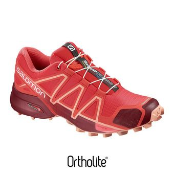 Chaussures trail femme SPEEDCROSS 4 hbs/red dhalia/peac
