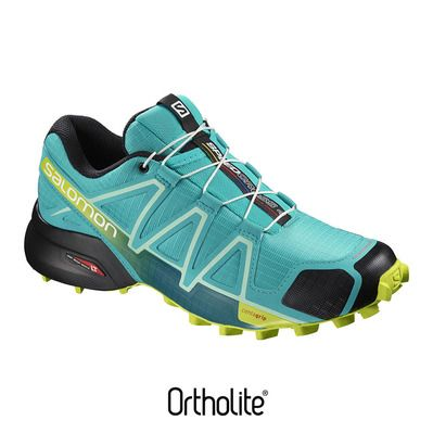4 Private Speedcross Limebk Chaussures Bluebrdacid Trail Femme AntwWF7q