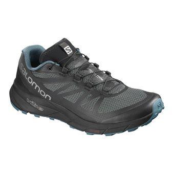 Salomon SENSE RIDE NOCTURNE - Chaussures trail Homme bl/mallard bl